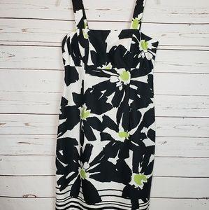Dress Barn Floral Shift Dress w/ Adjustable Straps